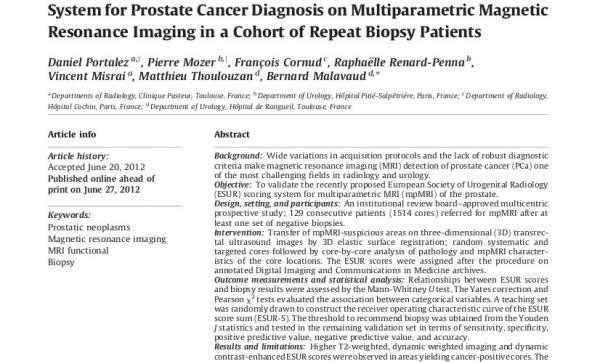 Articolo Cancro alla Prostata